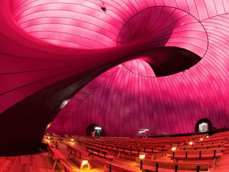 Fábricas de inflables crean arquitectura fácil de instalar.