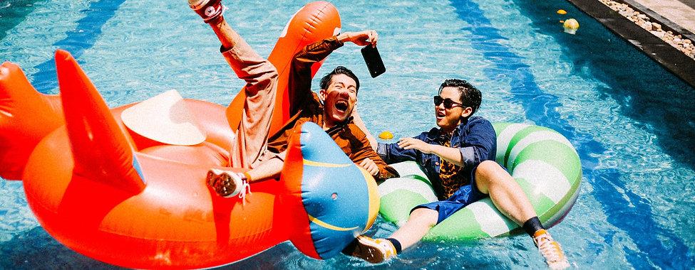 Flotadores para piscina