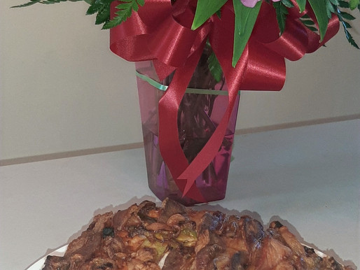 """""""Love your meats"""" Bacon Cake"""