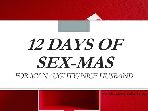 Naughty or Nice 12 days of Sex-mas