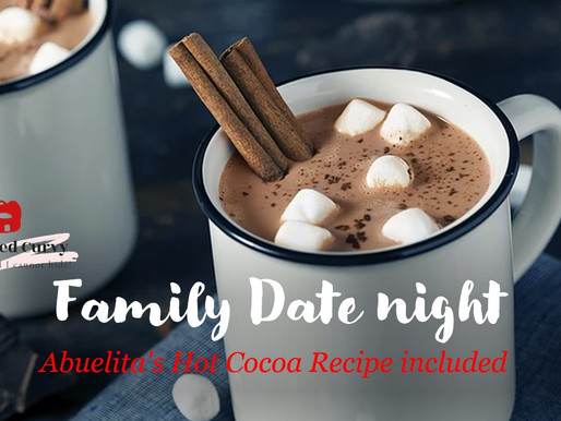 Christmas gift: Family Date Night