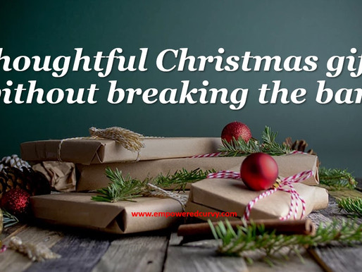 Christmas gifts without breaking the bank