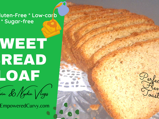 How to make the most perfect KETO Sweet Bread Load