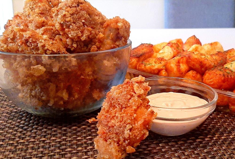 Keto chicken tenders.