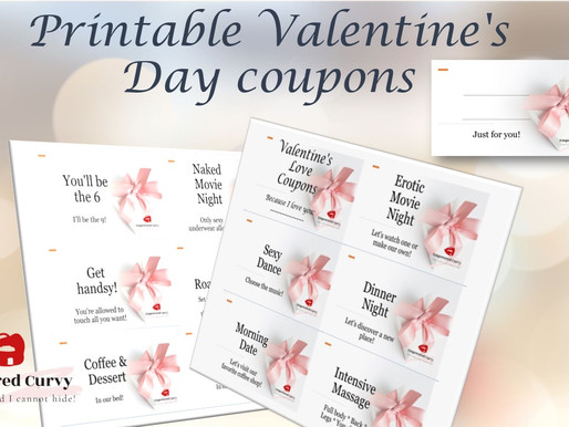 Sexy & Sweet Printable coupons for Valentine's Day (FREE!)
