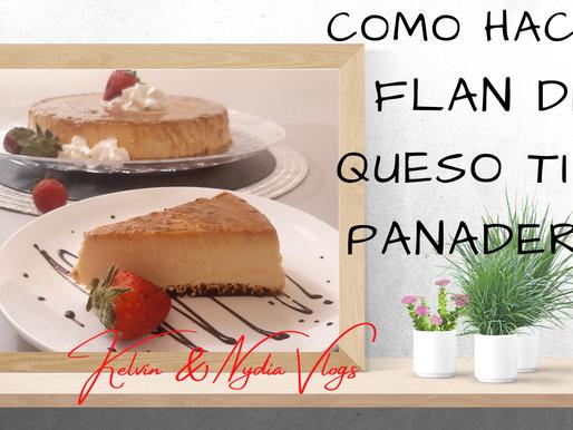 Cocinando en Pareja: Como hacer un flan de Queso tipo panadería