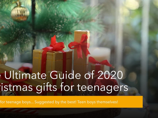 The Ultimate Guide of 2020 Christmas gifts for teenagers