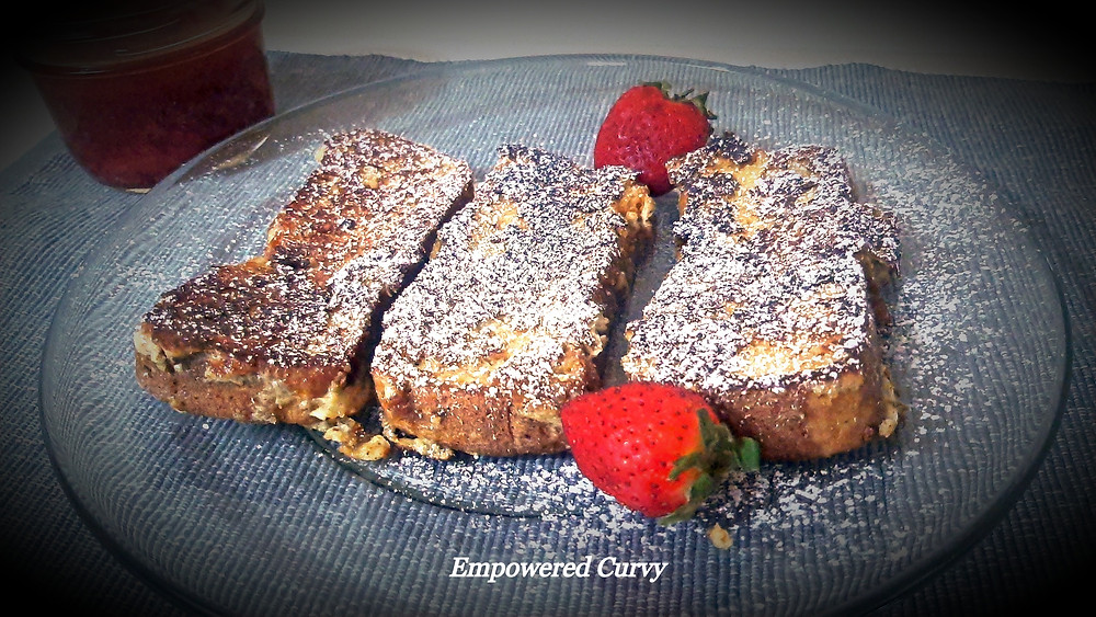 Keto French Toasts made with Brioche bread!