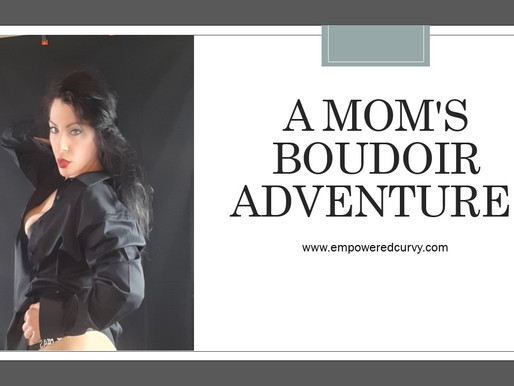 My DIY Boudoir. A mom's boudoir adventure!