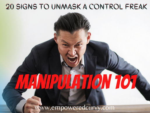 Manipulation 101: 20 signals to unmask the control freak