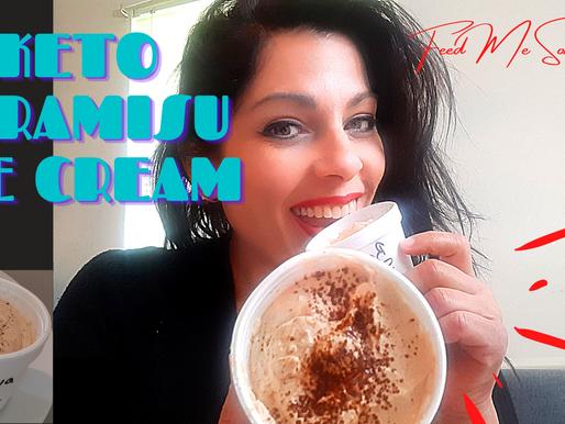 Tiramisu Keto Ice Cream > Less than 1g net carb keto frozen pleasure