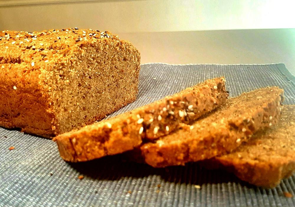 Psyllium & Flax Keto bread