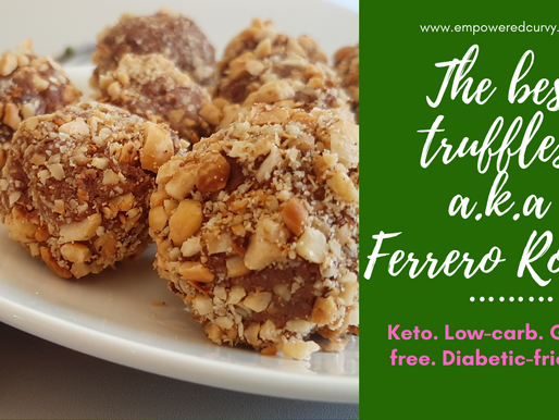The Best Keto Truffles a.k.a Ferrero Rocher