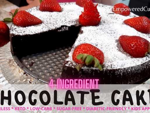 FLOURLESS CHOCOLATE CAKE - Finger-licking delicious and healthy!
