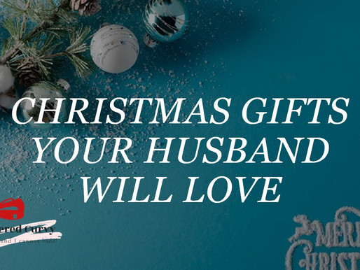 Christmas gifts your husband will love