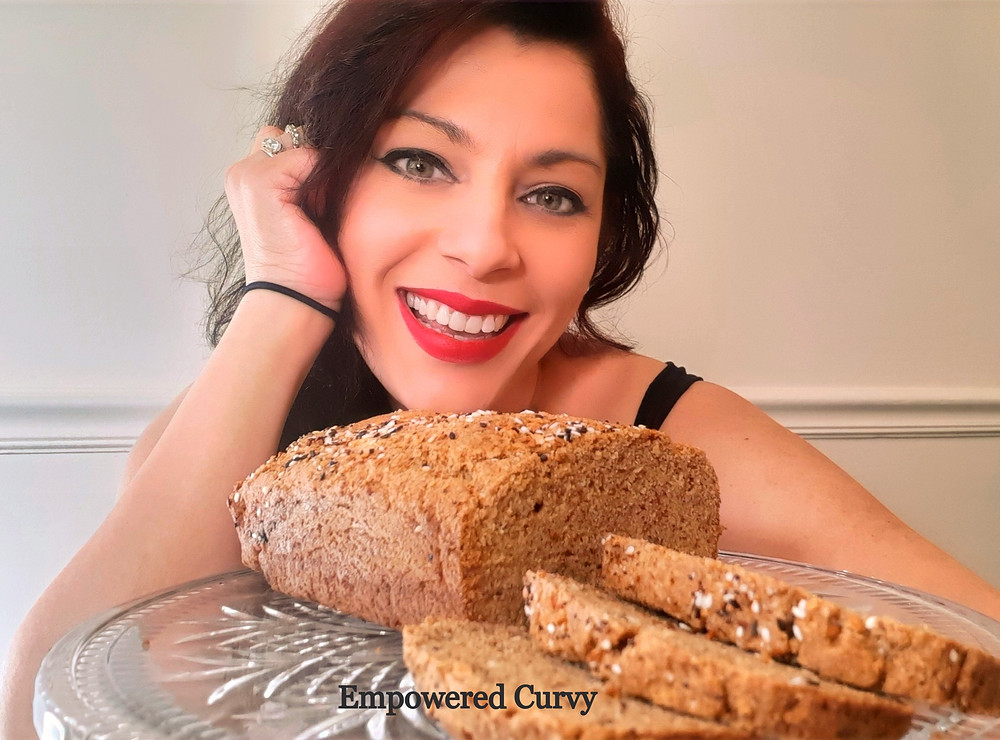 Psyllium & Flax bread load. Keto, low-carb, gluten-free, sugar-free, diabetic-friendly. Easy recipe.