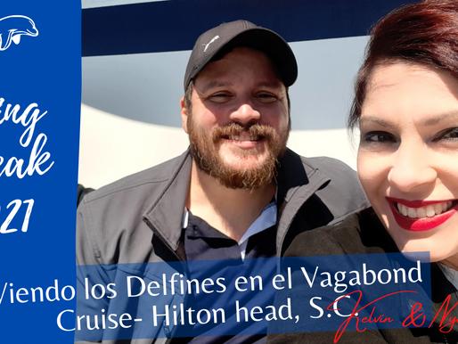 Spring Break 2021 en el Vagabond Cruise. Delfines en Carolina del Sur.