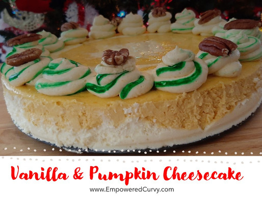Thanksgiving love + Vanilla & Pumpkin Swirls Cheesecake recipe