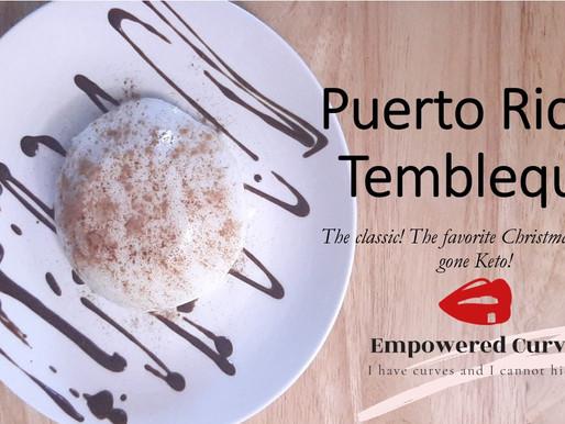 Puerto Rican Tembleque gone Keto