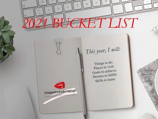 2021: New Year Bucket List!