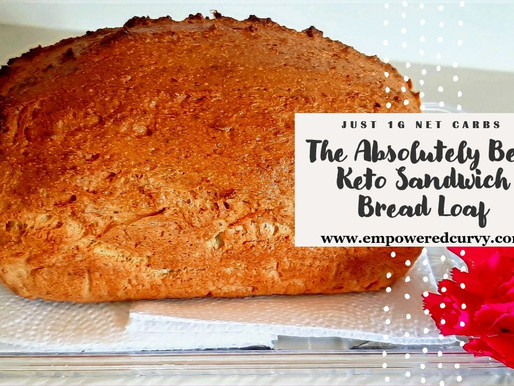 The Best Sandwich Bread Loaf (Keto/Low-carb)