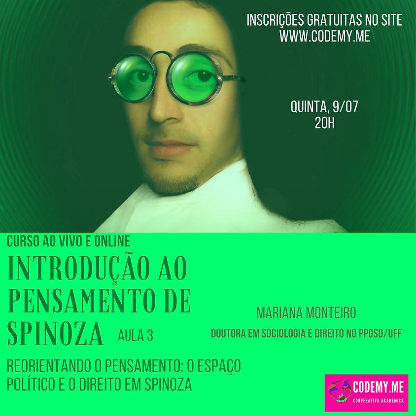 Introdução ao Pensamento de Spinoza (aula 3)