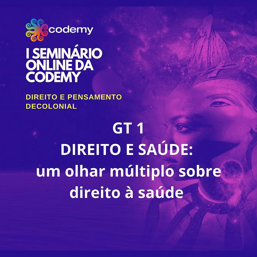 GT 1 DIREITO E SAÚDE: UM OLHAR MÚLTIPLO SOBRE DIREITO À SAUDE