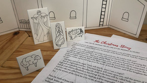 Free Christmas Nativity Scene and Story