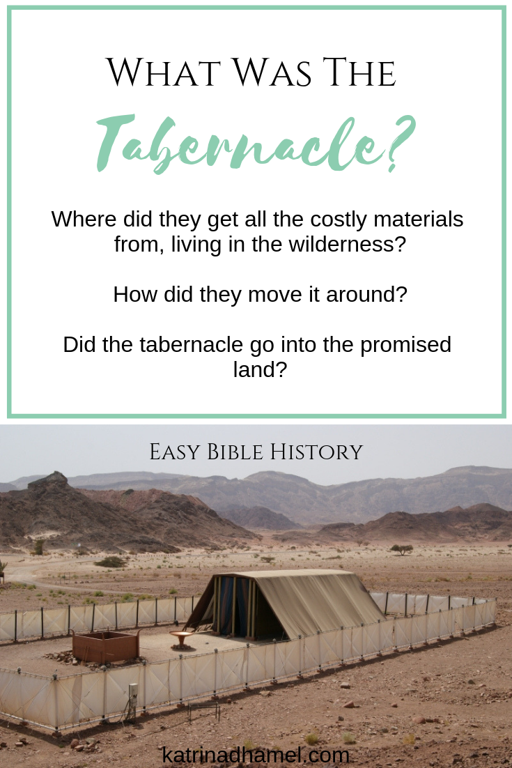 The tabernacle was an amazing, portable worship center for the Jewish people after their exodus from Egypt. This short article covers the basics of the tabernacle, what it looked like, where the costly materials came from, and how it was moved around in the forty years in the wilderness.