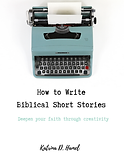 How to Write Biblical Short Stories Guide Cover
