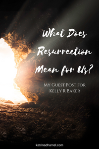 Jesus wasn't the only person who rose from the dead. So what's all the big hoopla over Jesus death that warrants him a holiday and not someone like Lazarus? What made Jesus' resurrection special? Find out at Jump in the Way by Katrina D Hamel.