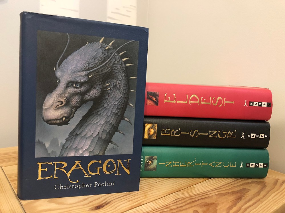 review of The Inheritance Series: Eragon by Christopher Paolini