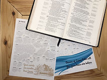 Bible Reading Tracker Printable