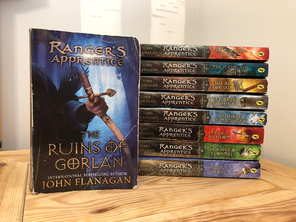 A review of The Rangers Apprentice Series by John Flanagan