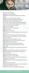 A list of the women found in the Gospel of Luke