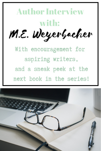 Meghan Weyerbacher graciously allowed me to interview her on her first novel: Organic Love.  Tips and Encouragement for aspiring writers, and a sneak peek at the next book in the series!