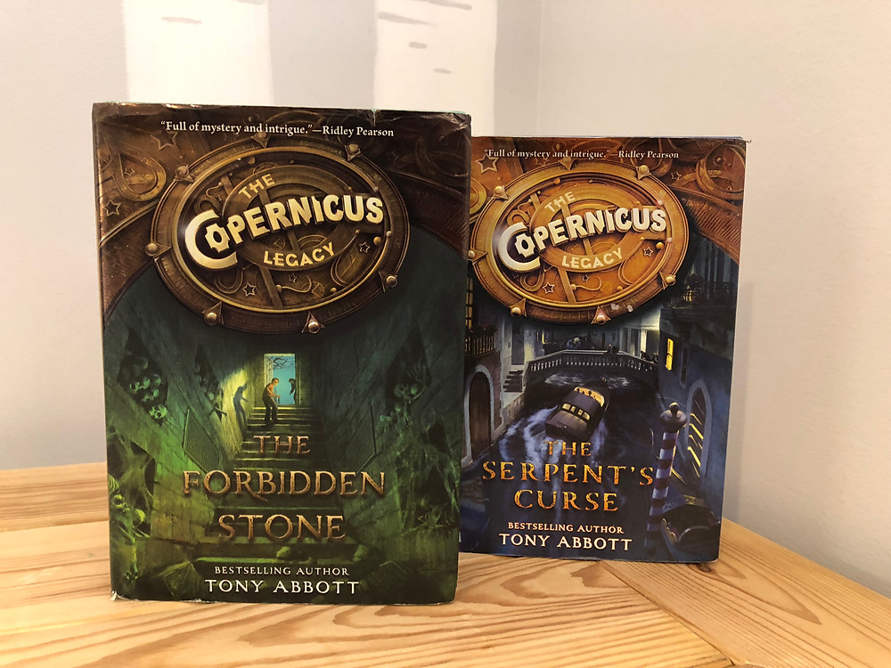 A review of The Copernicus Legacy Series by Tony Abbott