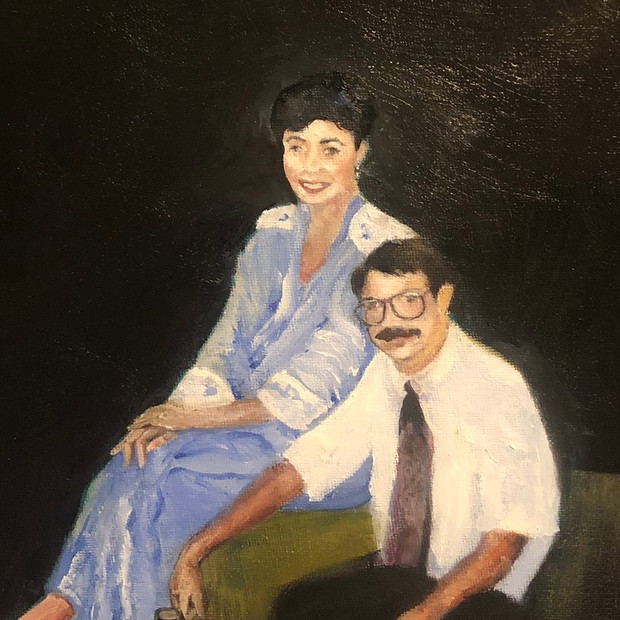 Bob and Rosemary  --Portrait--