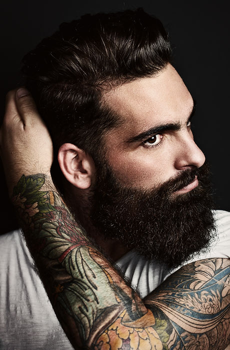 Man with a Tattooed Arm