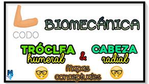 Biomecánica de la cabeza radial y tróclea humeral