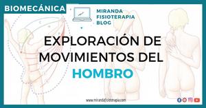 VALORACIÓN DE LOS MOVIMIENTOS DEL HOMBRO