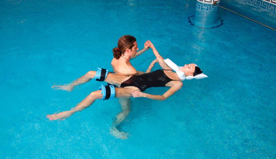 hidroterapia en sindrome de sudeck