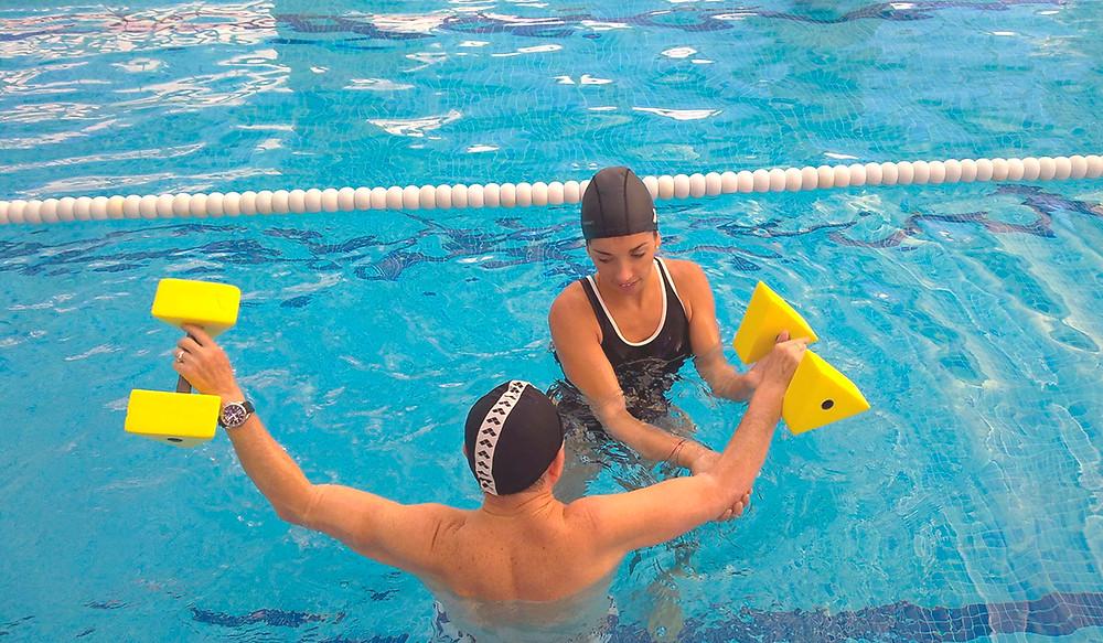 natación terapéutica