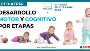 Pediatría: Desarrollo motor y cognitivo por etapas