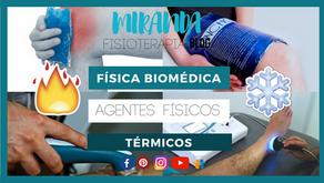 Agentes físicos térmicos: termoterapia, crioterapia, diatermia, ultrasonido.