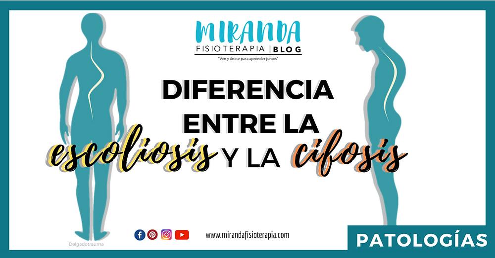 Diferencias entre la escoliosis y la cifosis - miranda fisioterapia blog
