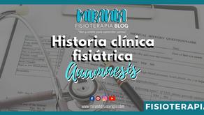 Historia clínica fisiátrica: Anamnesis #3
