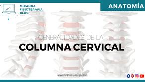 Generalidades de la columna cervical