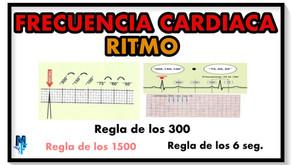Cómo calcular la frecuencia y ritmo cardíaco