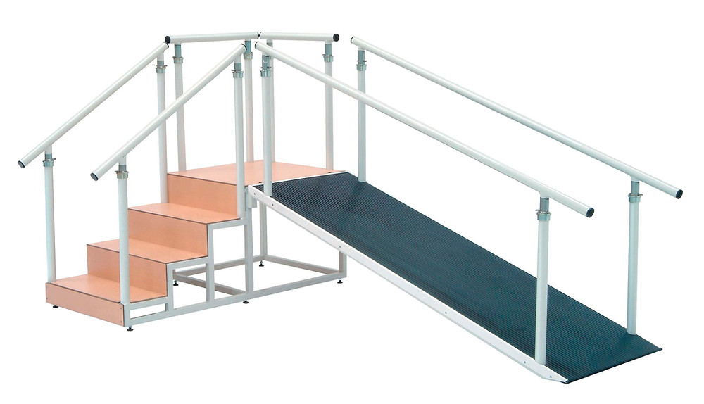 escaleras y rampas - mecanoterapia